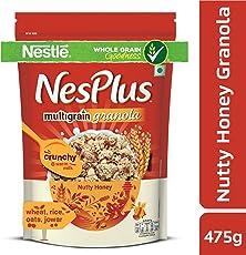 NesPlus Multigrain Granola, Nutty Honey, 475g