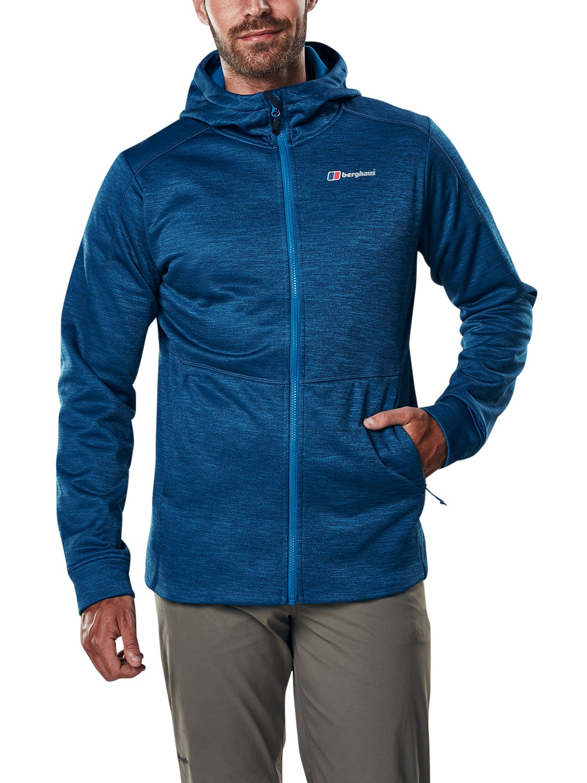 Berghaus Men's Kamloops Hooded Fleece Jacket