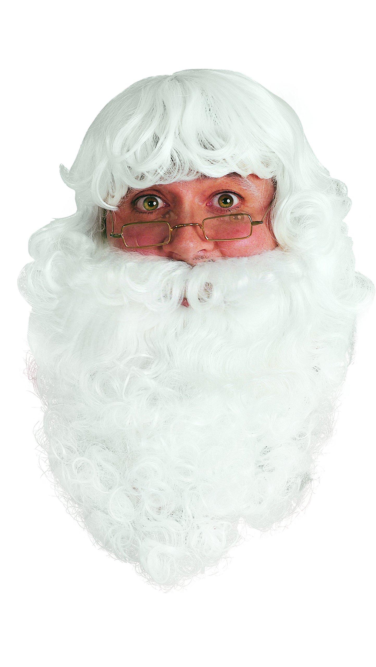 Rubies P16002073–Accesorio de Disfraz, Barba para Adulto de Papá Noel