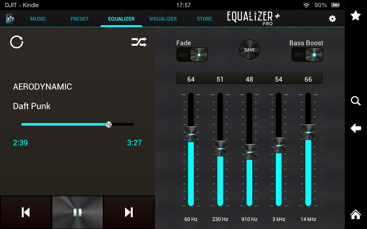 Equalizer Pro Musik Player Lautst 228 Rke Booster Amazon