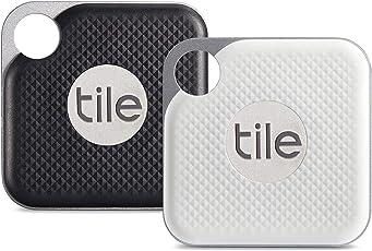 Tile EC-18002 Pro mit austauschbarer Batterie - Schwarz und Weiß Combo 2er Pack