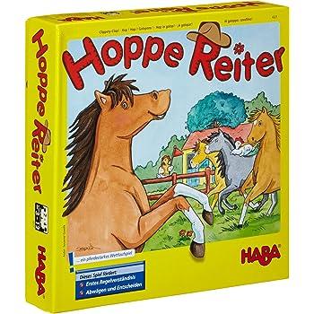 """Haba 4321 - """"Al galoppo, cavallino!, Gioco in scatola [importato dalla Germania]"""