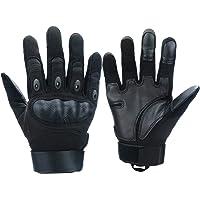 Xnuoyo Gomma dura Nocca Full Finger e Mezza Finger Gloves Guanti di protezione Touch Screen Guanti per Moto Ciclismo…