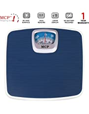MCP Deluxe Personal Manual Analog Weighing Scale upto 130 kgs capacity for human body weight machine (Mechanical Weighing Machine)
