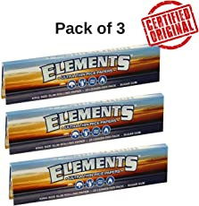 OutonTrip 3X Elements Thin Rice King Size Slim Rolling Papers