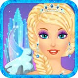 Snow Queen Dress Up and Makeup: princess makeover salon for girly girls who love fashion and virtual beauty games