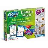 Clementoni 69808 Galileo Knowledge - Juego de mesa de preguntas para niños [Importado de Alemania]