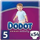 Dodot Activity Pañales Talla 5, 54 Pañales, 11-16 kg