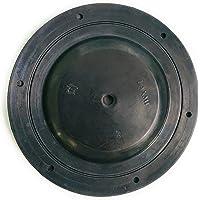 "90 Degree 40 PSI Flexible Cement Grout Pump Rubber Diaphragm Seal, Black, Round, 1 Pcs (3 No,Big,6.5"" Dia)"