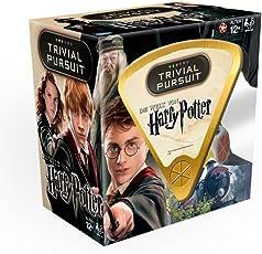 TRIVIAL Pursuit: Das Harry Potter Quiz - Mit 600 Fragen rund um die Filme | Gesellschaftsspiel | Familienspiel | Wissensspiel |