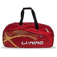 Li-Ning Tour ABDP392 Polyester Badminton Kit-Bag (Red) with Shoe Bag