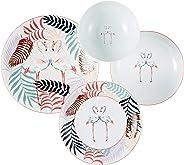 Kütahya Porselen ZG24Y247010031 Yemek Seti, Porselen, 24 Parça