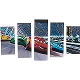 Taffy Decorative MDF Painting, 5 Pieces - 110x60 cm