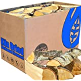 EcoBlaze Boxed Kiln Dried Firewood - Premium 25cm Hardwood Logs Dried Under 20% - Fireplace, Stoves, Log Burners, Open…