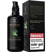 Aloe Vera Gel BIO 100% - ÖKO Test SEHR GUT 09/20 - Vegan mit Hyaluronsäure, Bio Spirulina, Jasmin & Panthenol - Als…