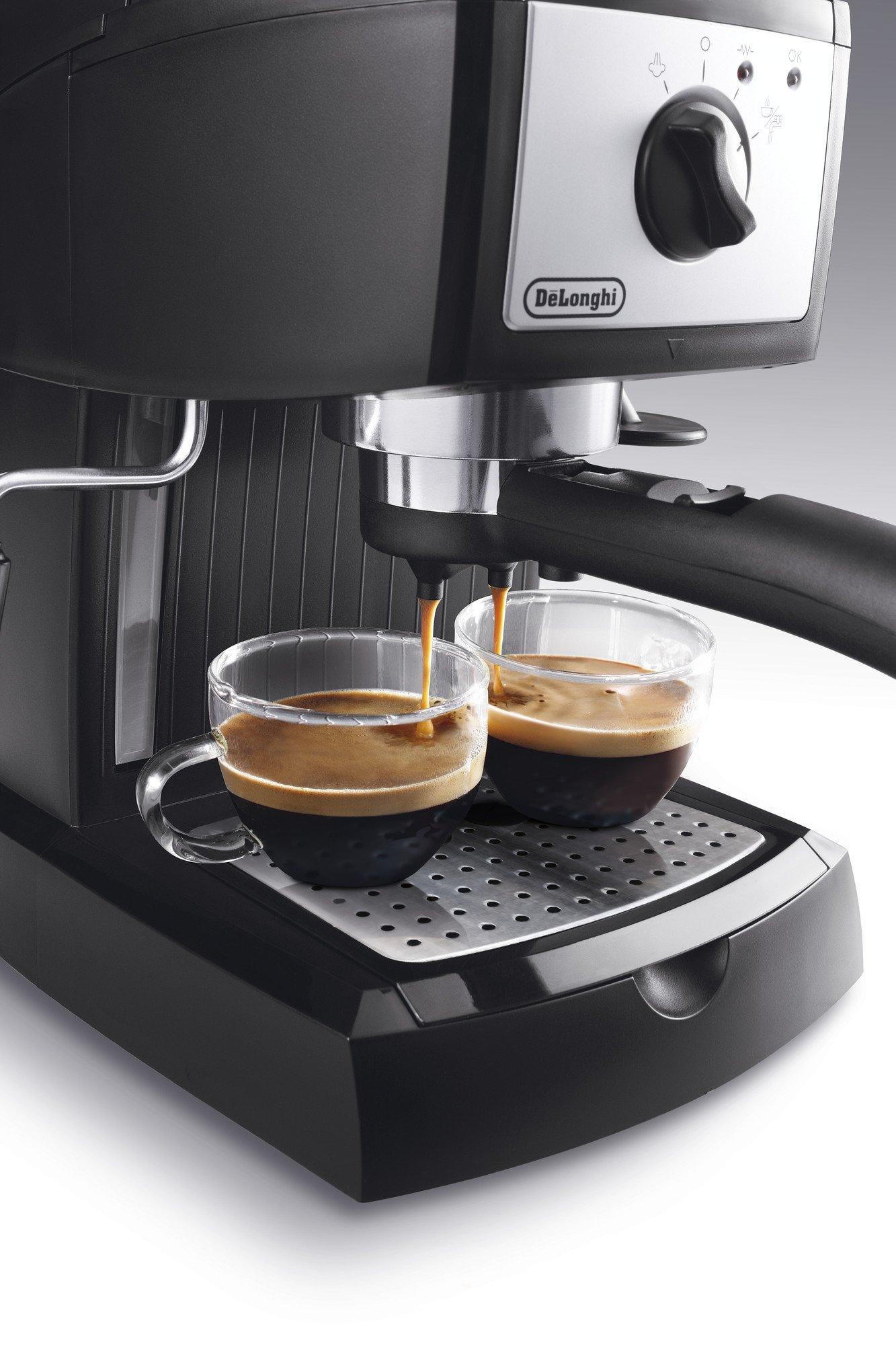 MONTACREMA NERO MACCHINA CAFFE/' DE LONGHI PER FILTRI 1 E 2 TAZZE 5532108700 D 50