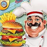 Cocina de restaurante de comida rápida - Juegos de cocina de chef