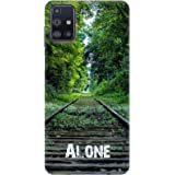Amazon Brand - Solimo Designer Alone 3D Printed Hard Back Case Mobile Cover for Samsung Galaxy M31s