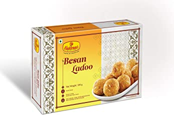 Haldiram's Nagpur Besan Laddu - 400 Grams (Pack Of 1)