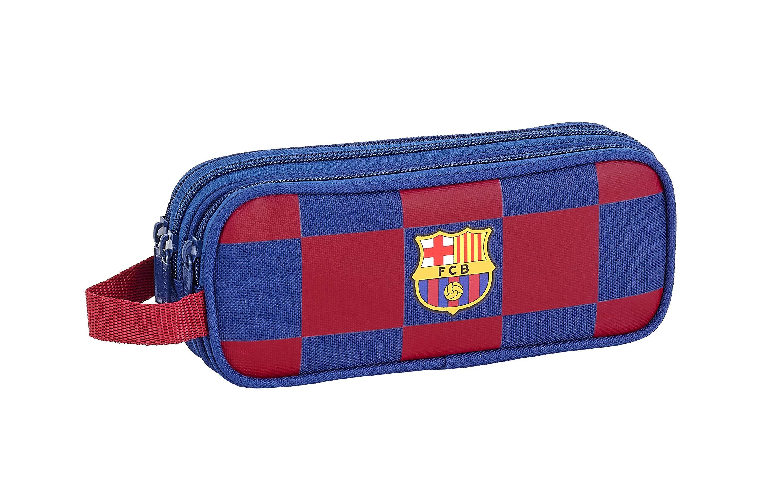 Estuche de FC Barcelona 1ª Equip. 19/20 Oficial Triple Cremallera 210x70x85mm