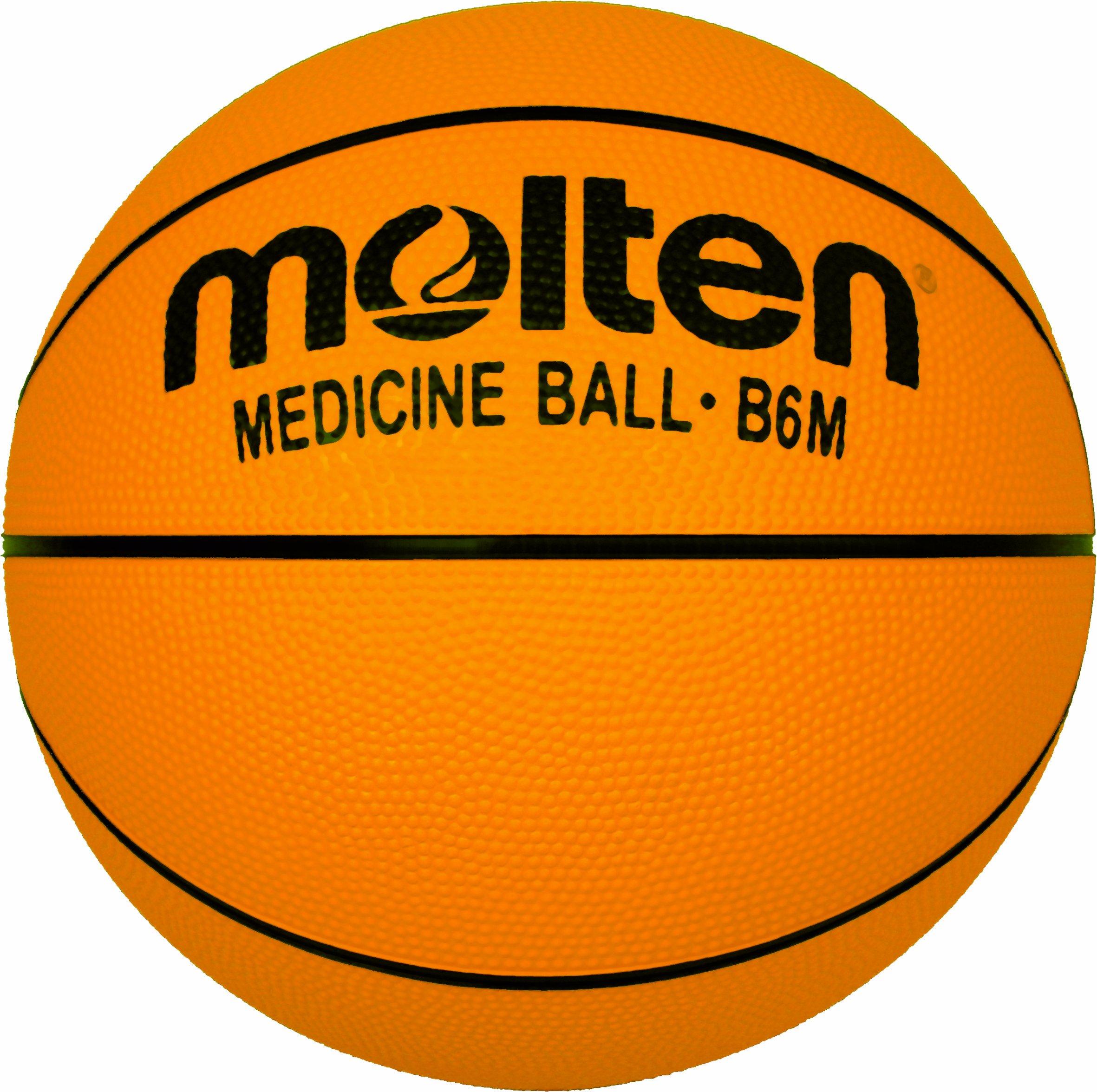 Molten - Balón de baloncesto, color amarillo naranja naranja Talla:7