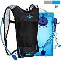 Shayson Trinkrucksack Hydrationspack mit 2L Trinkblase Fahrradrucksack für Joggen, Wandern, Radfahren, Camping und Bergsteig MEHRWEG