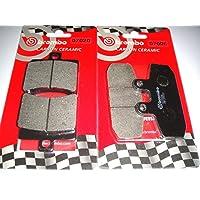 Speed Triple R 1050 cc 2005 2006 2007 2008 2009 2010 2011 Pastiglie freno anteriori per Speed Triple 1050 cc 2005 2006 2007 Cyleto