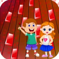 Piano Tiles Valentines - Music Games