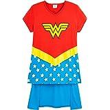 DC Comics Wonder Woman Camisetas Niña, Ropa para Niñas 100% Algodon, Camiseta Niña Manga Corta Mujer Maravilla, Regalos para