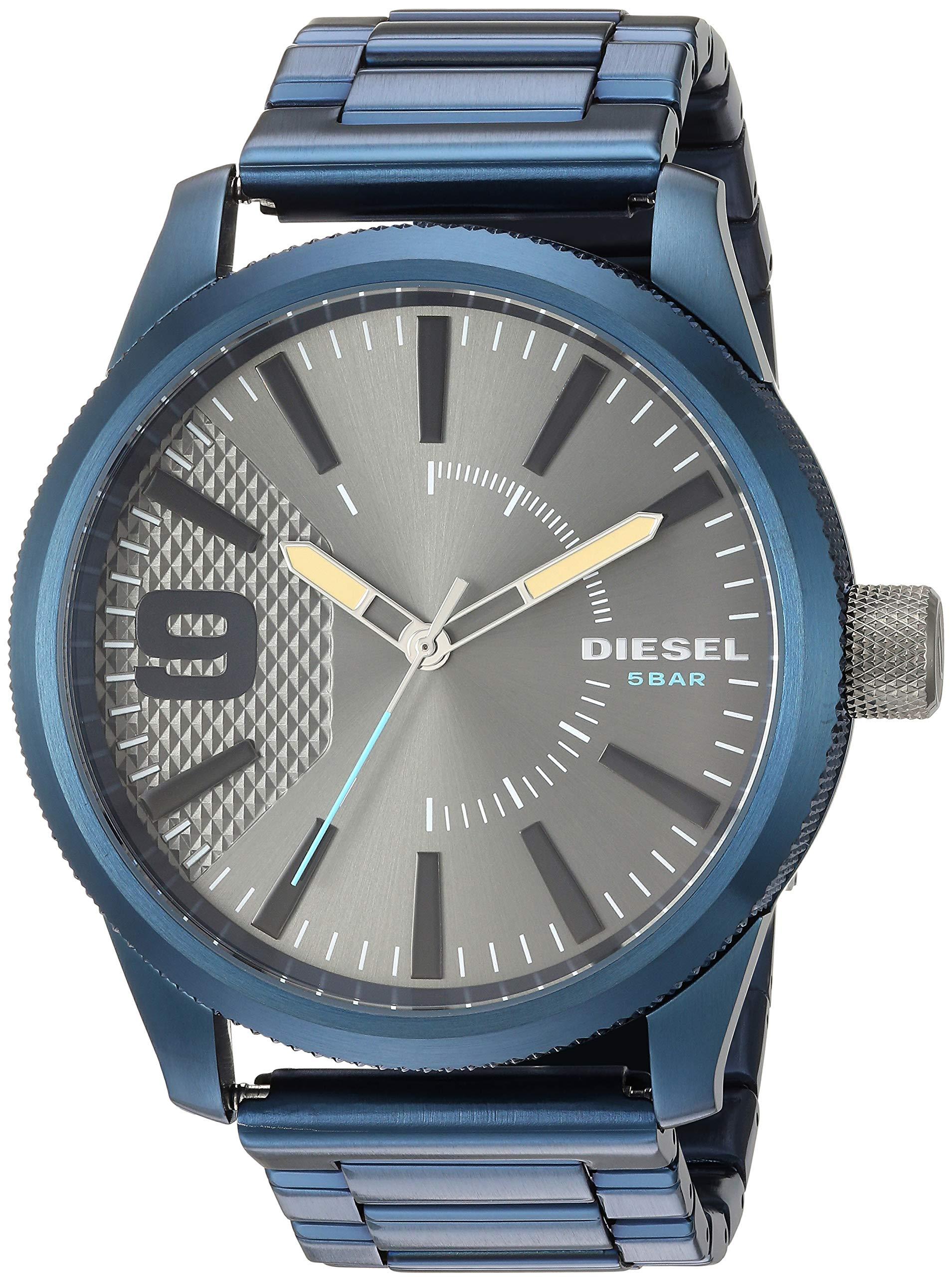 Diesel Rasp Nsbb Analog Grey Dial Men's Watch-DZ1872