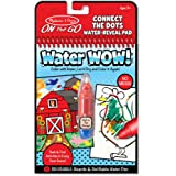 Melissa & Doug On the Go Water Wow! Connect the Dots Farm Activity Pad (Reusable Water-Reveal Coloring Book, Refillable…