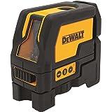 DEWALT DW0822-XJ Livella Laser Piombo e Croce, 4.5 V, Giallo/Nero