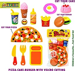 Mayatra's SO YUMMY - FAST FOOD PLAY SET