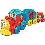Clementoni Disney Baby Activity Train, 10+ Mesi, Multicolore, 17168