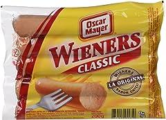 Oscar Mayer Salchichas Wieners Classic, 200g (Refrigerado)