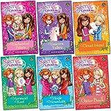 Secret Kingdom Series 1 Collection Set By Rosie Banks 6 Books Set (Enchanted Palace, Unicorn Valley, Cloud Island, Mermaid Reef, Magic Mountain, Glitter Beach)