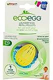 Ecoegg Laundry - Pellet per ovetto per lavaggi senza detersivo, 54 lavaggi, senza fragranza