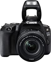 Canon EOS 200D EF-S 18-55mm STM Lens Kit - 24.2 MP, DSLR Camera, Black