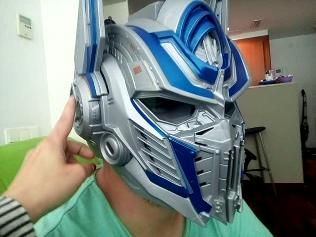 Amazon.es:Opiniones de clientes: Transformers - Casco Premium Optimus Prime, versión en español (Hasbro C0878EU4)