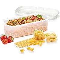 Tescoma 705026 Purity Microwave Cuoci Pasta  Plastica  Bianco  28 5 x 14 x 10 cm