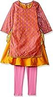 Karigari by Unlimited Girls' Regular Fit Lehenga Choli (400017777856)(Colors & Print May Vary)