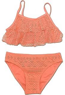 Girls Swimwear Swimsuit Swimming Costume Bikini set Bathing suit Age 6-13 years