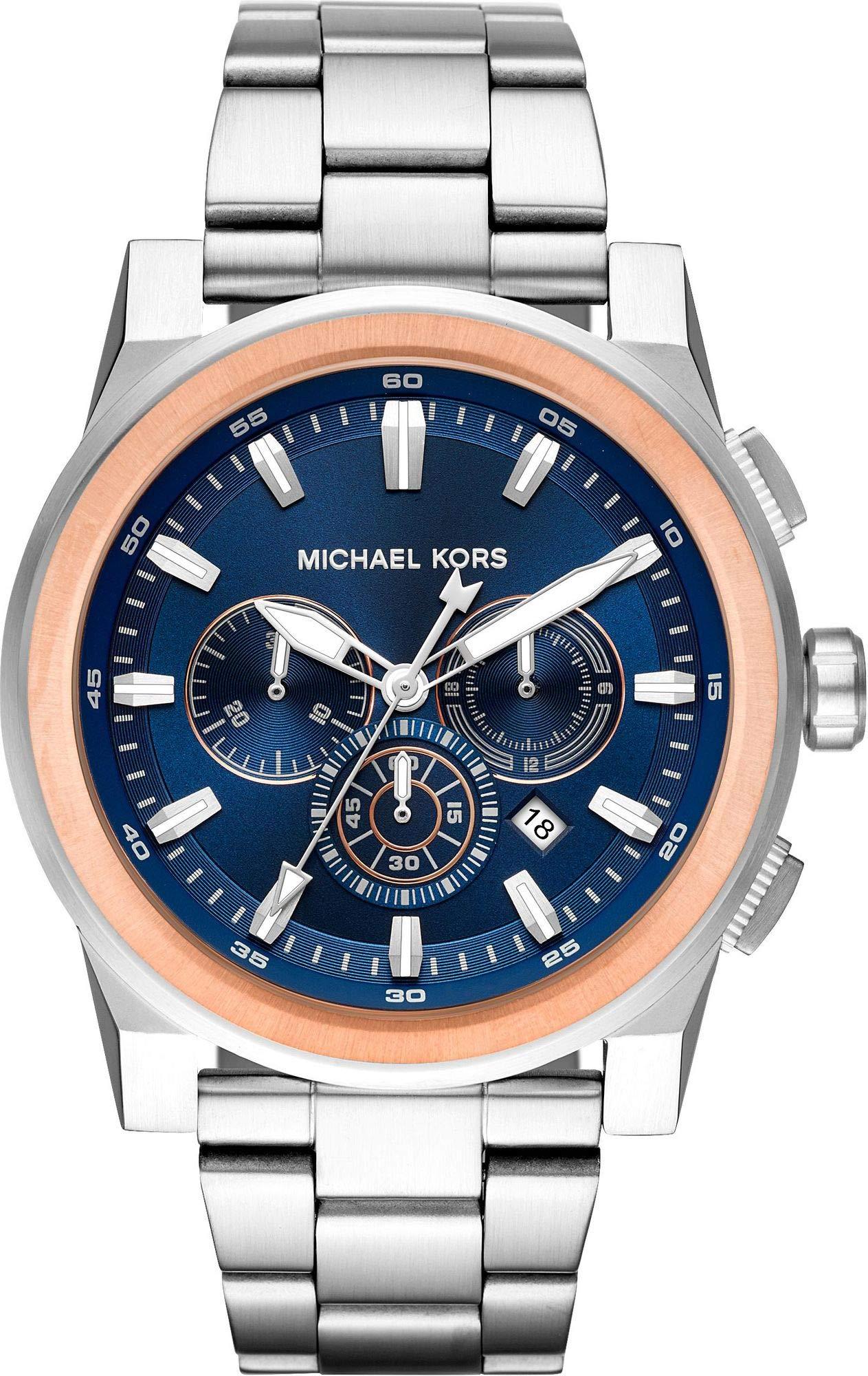 Michael Kors Reloj Analogico para Hombre de Cuarzo con Correa en Acero Inoxidable MK8598