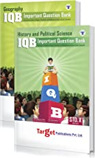 Std. 10th IQB History and Geography Books, English Medium (MH Board) (Combo of 1 History and Political Science and 1 Geography Book)
