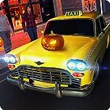 Party verrückt Taxifahrer Rush Mania Simulator 3D: Halloween Autofahren & Tourist Transporter Abenteuer Mission Simulation Spiele kostenlos für Kinder 2018