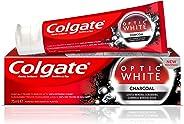 Colgate Optic White Charcoal Whitening Toothpaste, 75 ml