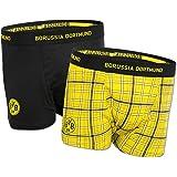 Borussia Dortmund BVB-Boxershorts (2er Pack) (schwarz, gelb)