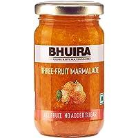 Bhuira Three Fruit Marmalade (No Added Sugar Jam), 240g