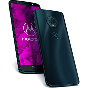 Motorola Moto G6 Smartphone da 64 GB, Dual SIM, Indigo [Italia]