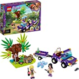 LEGO Friends SalvataggionellaGiungladell'Elefantino con Mini-doll di Emma e Stephanie, 41421